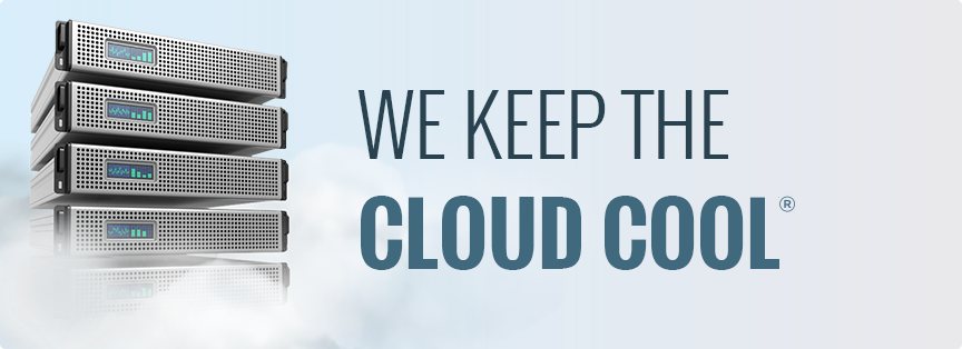 We keep the cloud cool