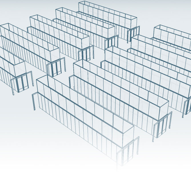 Homepage Banner Image showing Containment Aisles