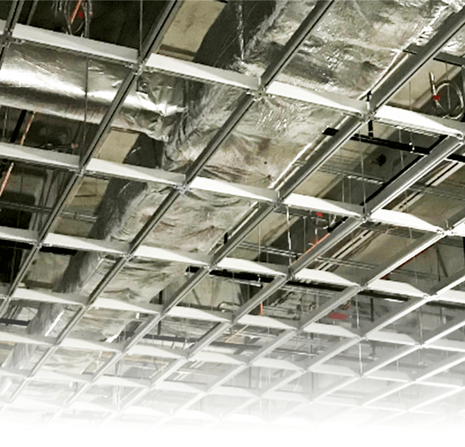 STRUCTURAL CEILINGS FOR FLEXIBLE SPACE