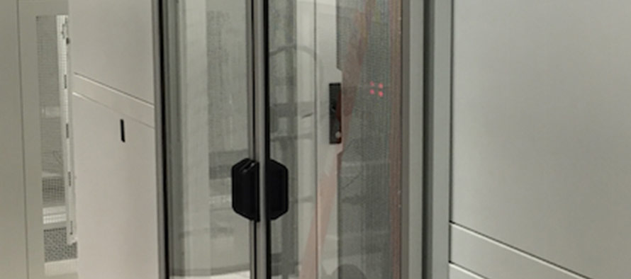 Data Center Sliding Door