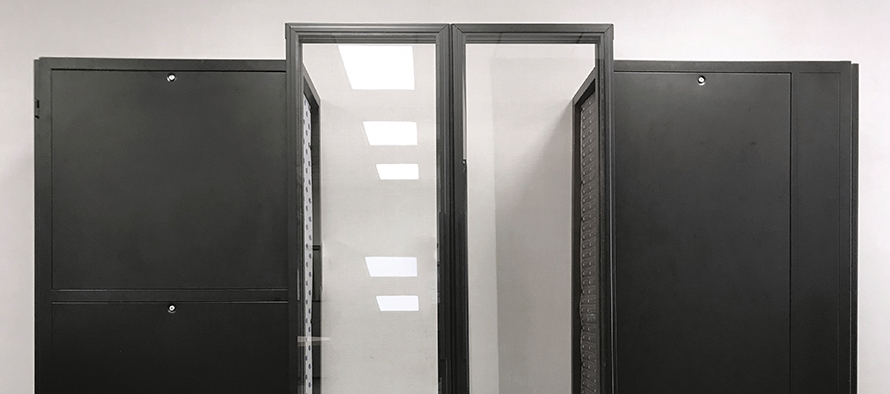 Aisle End Sliding Door