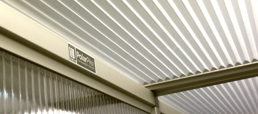 typical prefabricated hot aisle containment