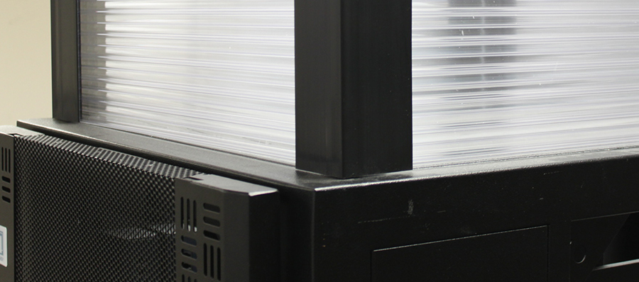 1.	server cabinet duct