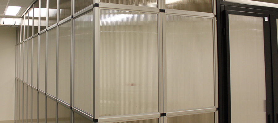 data center wall partition