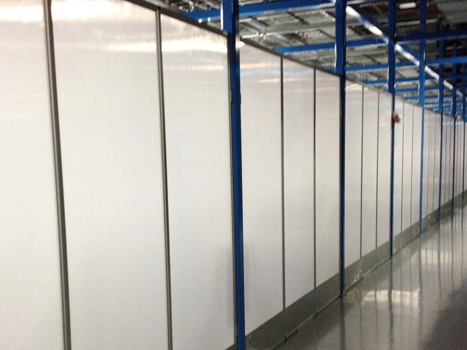 Polargy Data Center Modular Wall
