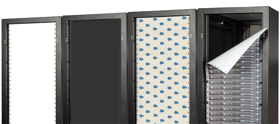 blanking panel & Polargy   PolarFlex™ 42U Blanking Panel