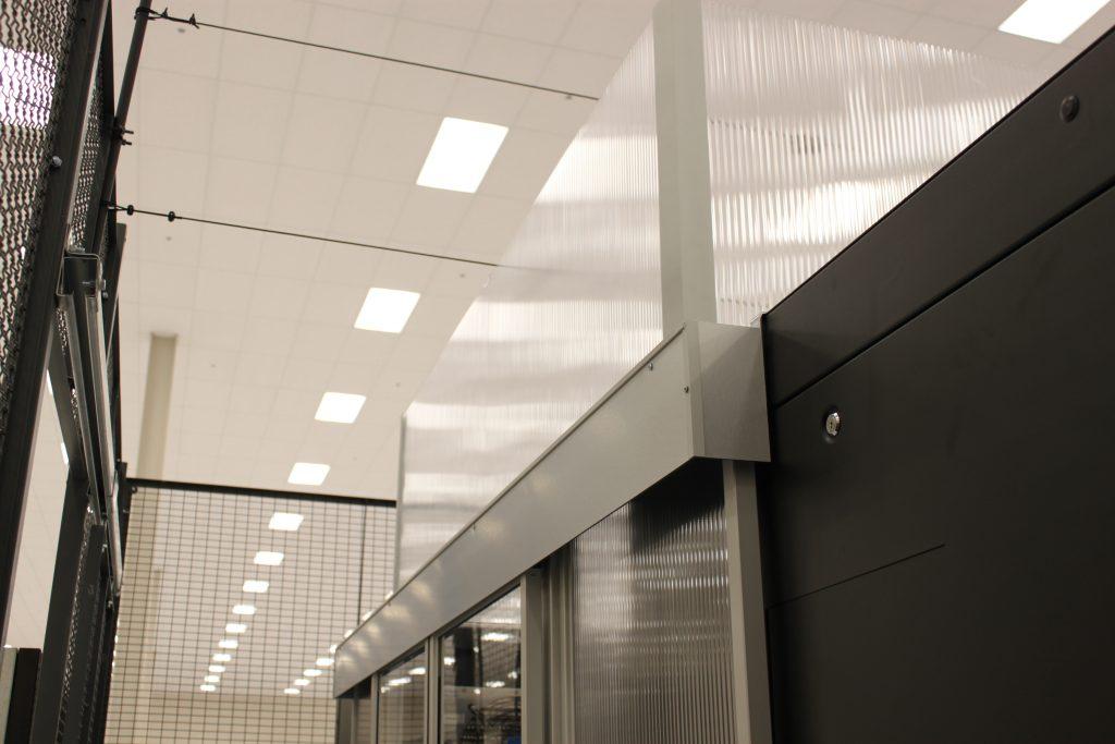 aisle containment door